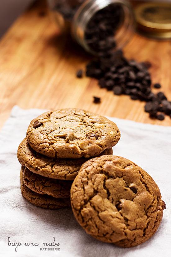 cookies de mantequilla marrón y melaza 1